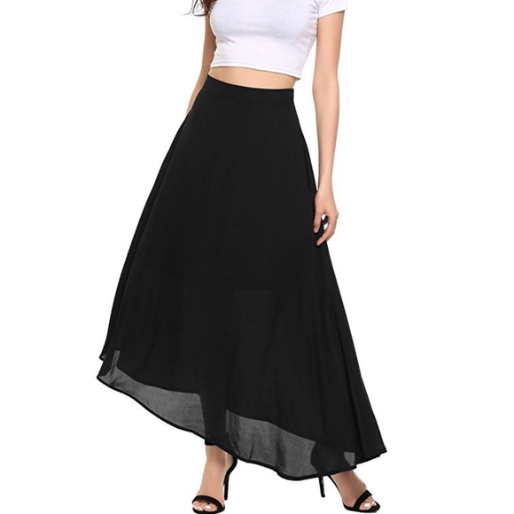 Dresses & Skirts - Womens Chiffon Maxi Long Skirt